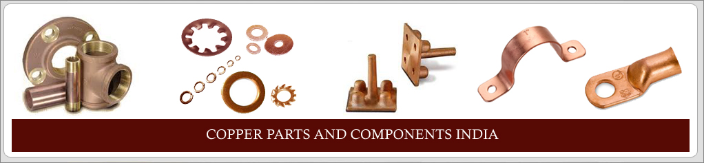 Copper parts Copper components